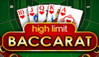 High Limit Baccarat (Баккара с высокими лимитами)